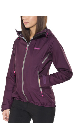 Bergans Airojohka Jacket Lady Plum/Solid Grey/Hot Pink